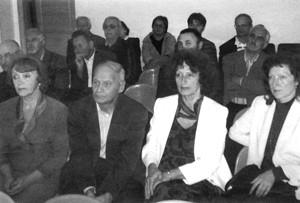 На передньому плані - родина Білостоцьких