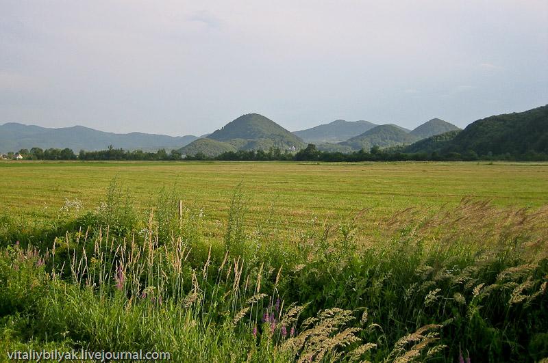 Поселение Шаян, Карпаты