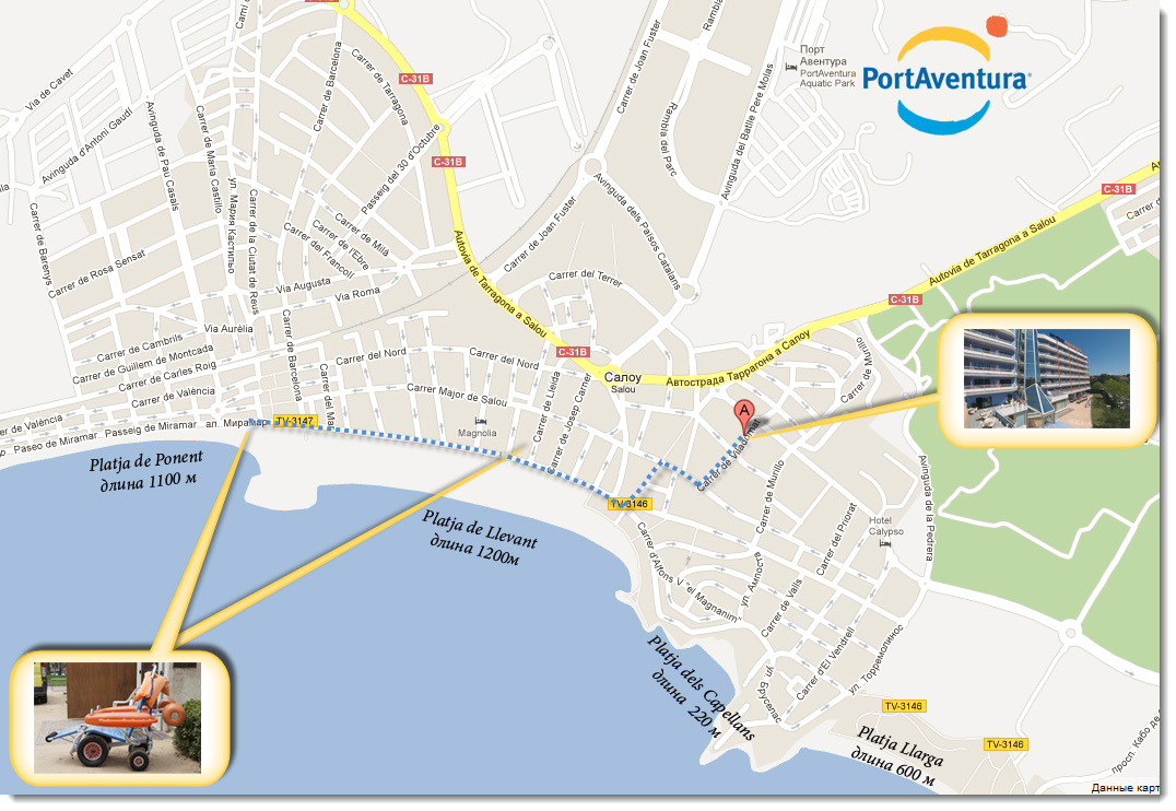 Salou_map