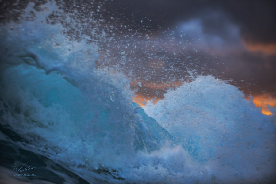 Фото Виталия Сокола, Бали, волна, океан