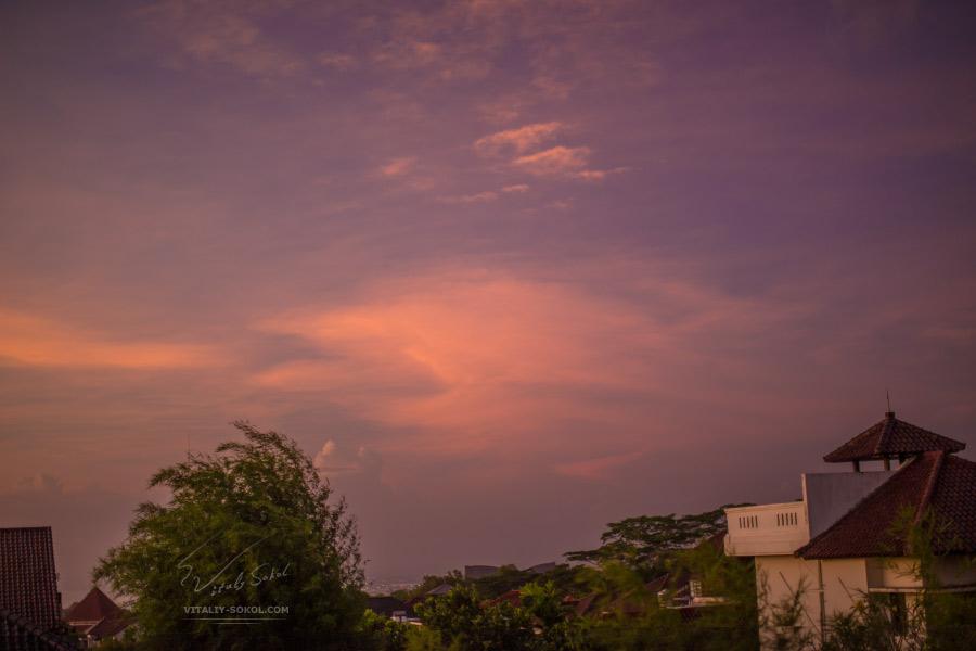 Bali Evening sunset clouds polaroid_01.jpg