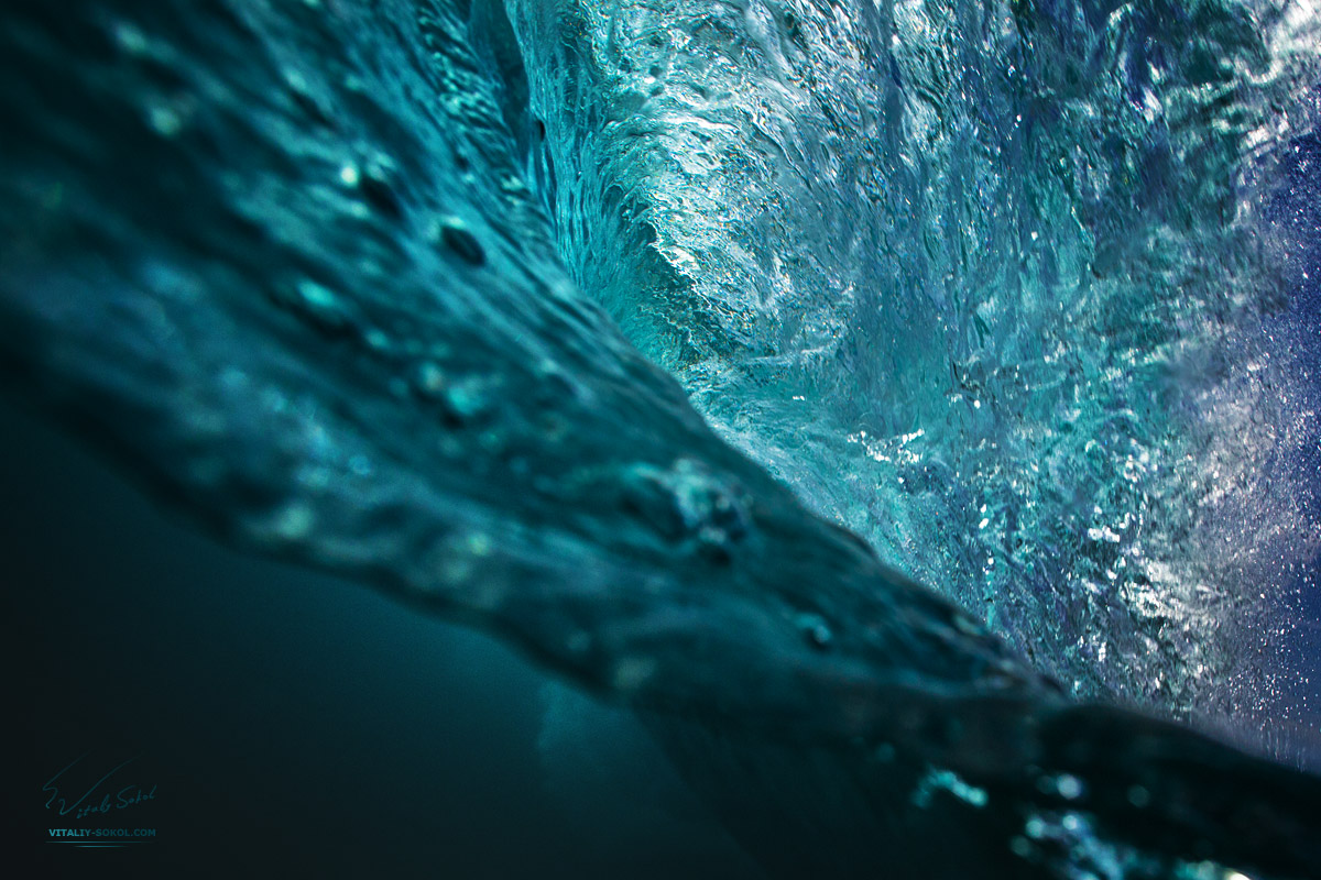 Ocean Wave Inside The barrel