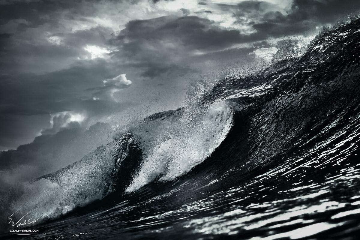 Океанская волна на Бали