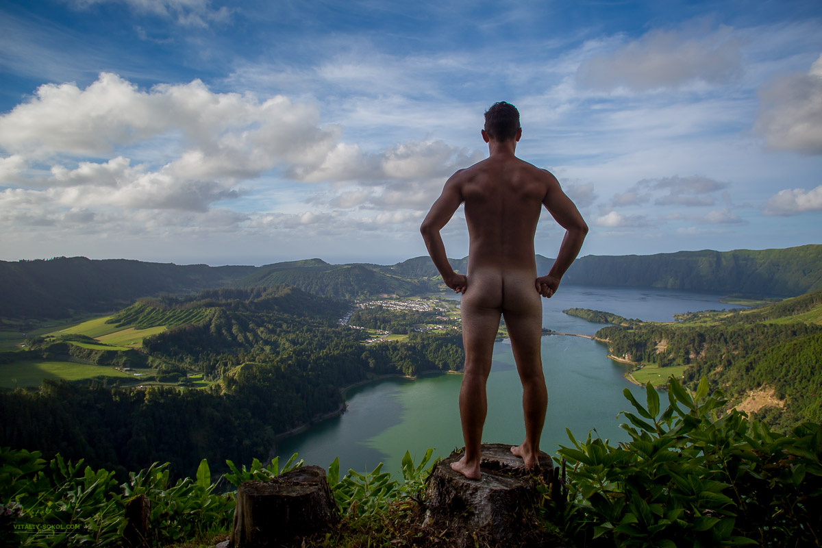 adventureass Kyle in Portugal in Azores