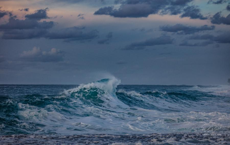 Океанская волна на Гавайях