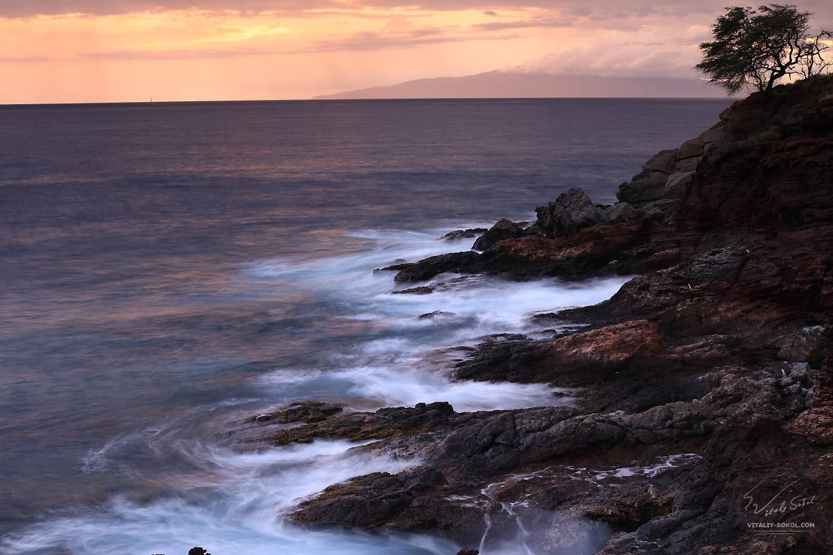 Береговой пейзаж на острове Мауи