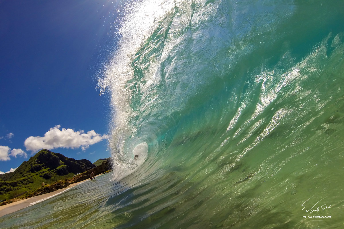 Ocean waves photography