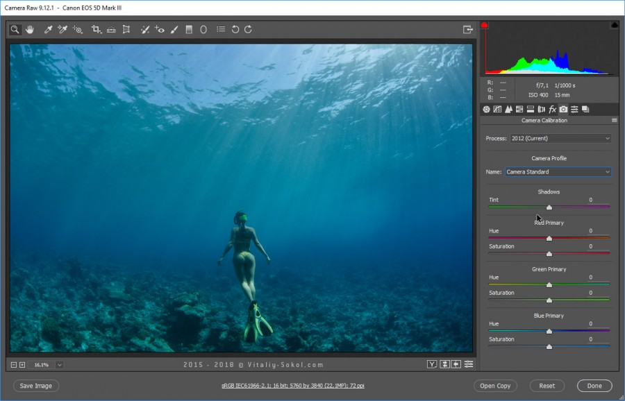 Underwater photo / Color Correction