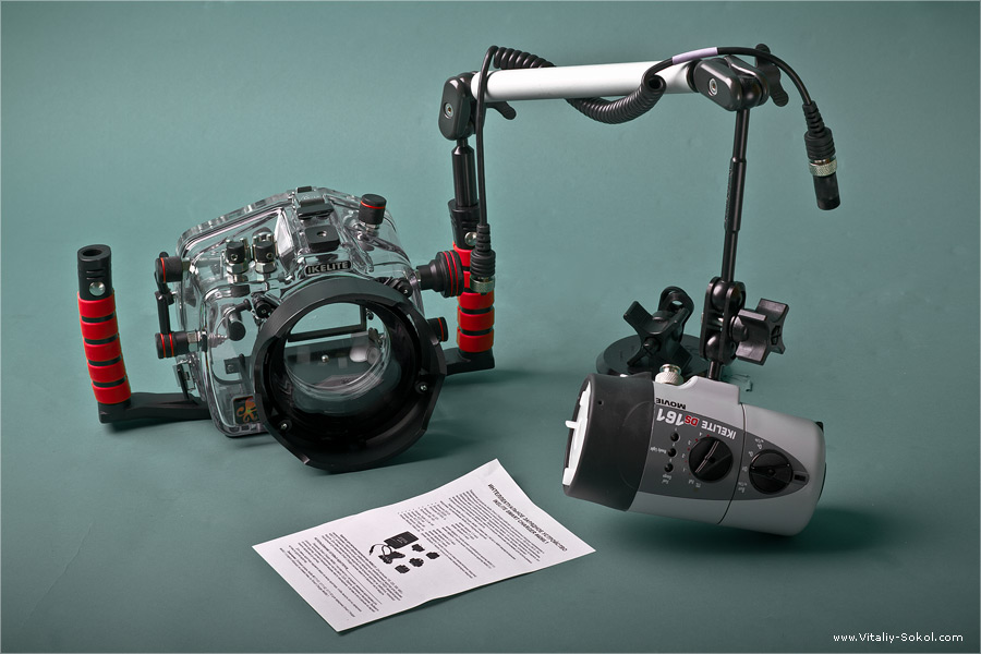 Виталий Сокол. Чем я снимаю под водой. Оборудование для подводной фотосъемки.