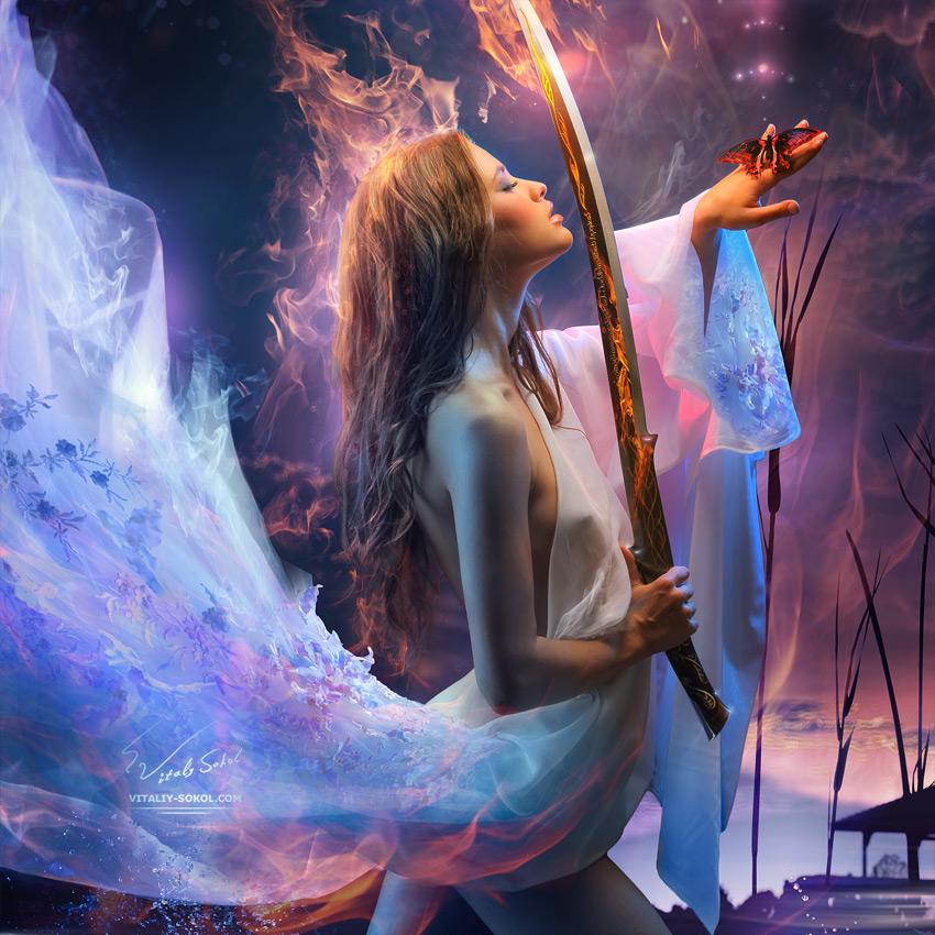 Fantasy art by Vitaliy Sokol
