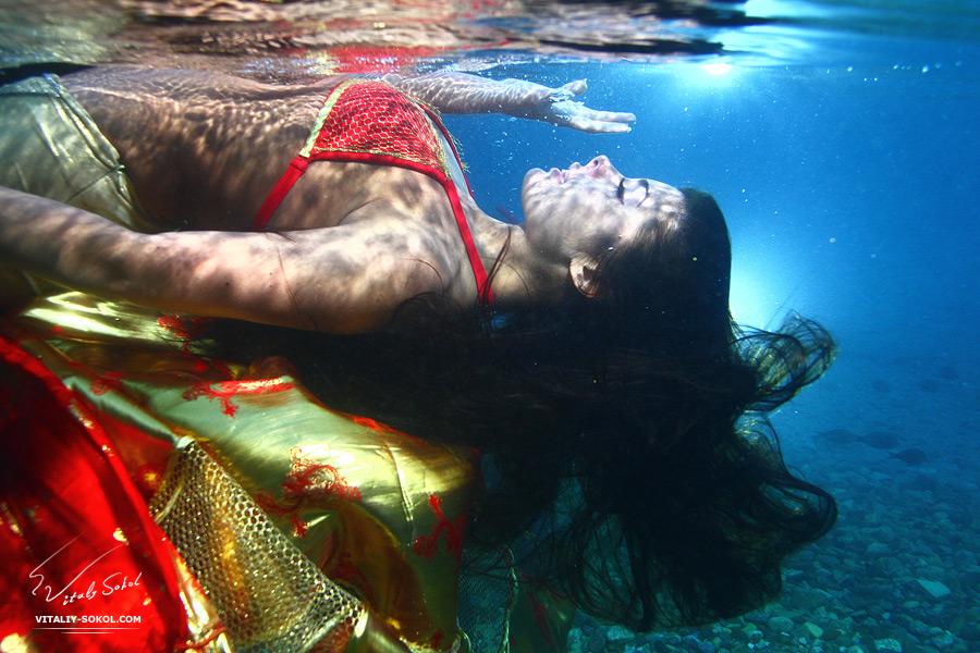 конкурс подводной фотографии в Эйлате. Работы Виталия Сокола, третье место.