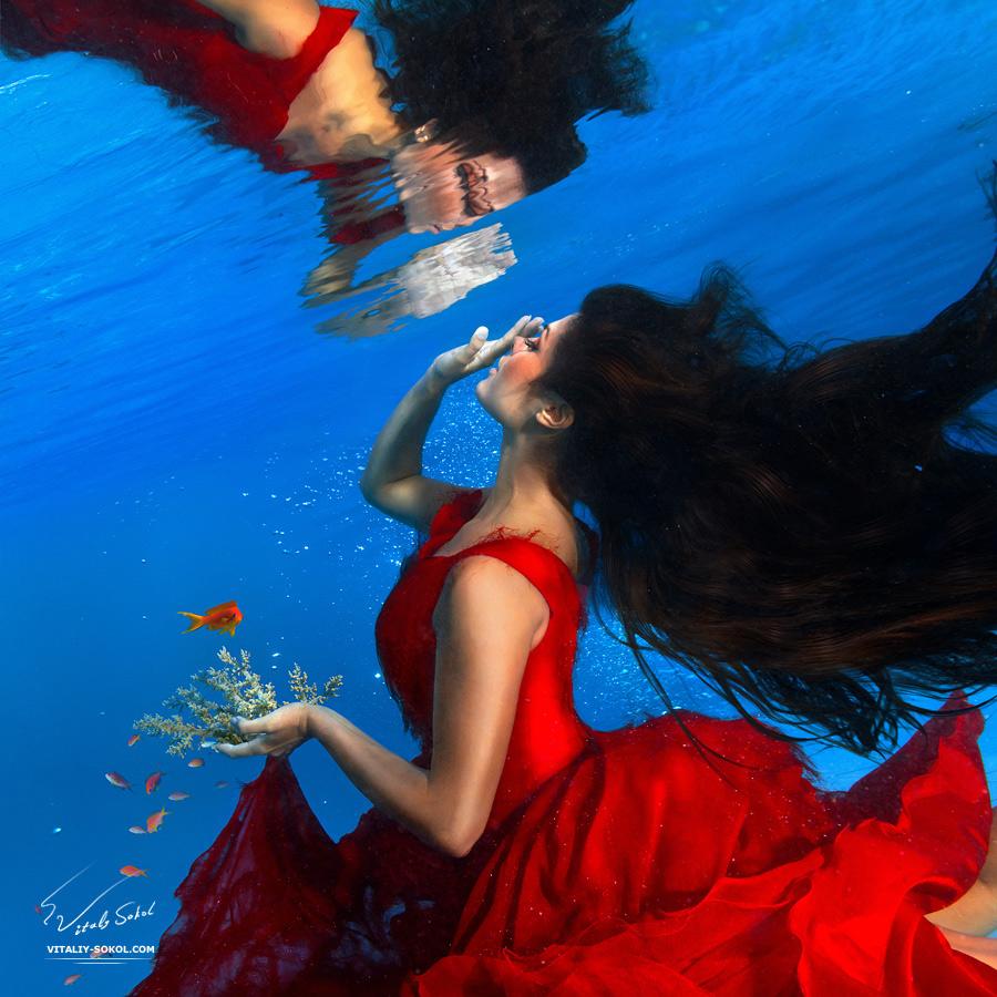 Underwater fashion by Vitaliy Sokol