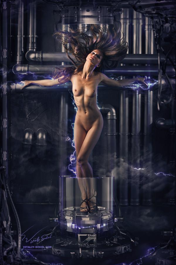 3d, art nude, cyberatonica, fantasy, kris, nu, zbrush, Крис, арт ню, ню, профессиональный фотограф, студийная фотосъемка, фото