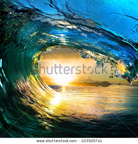 stock-photo-rough-colored-ocean-wave-falling-down-at-sunset-time-103520741