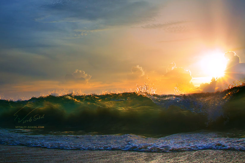 ocean, surf, water, wave, waves, волны, море, путешествия, прибой