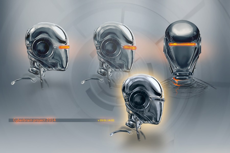 cyberbrain-robot-head