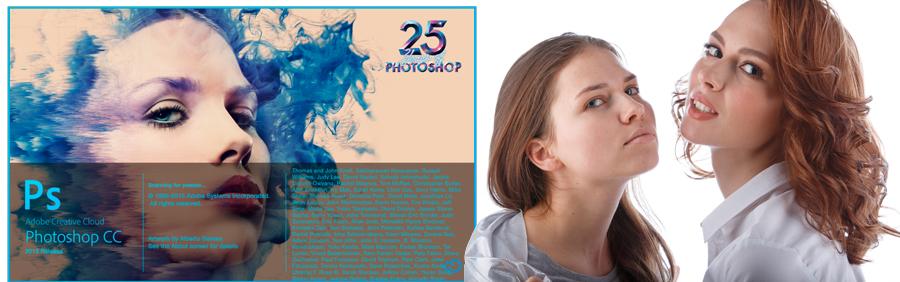 A model from photoshop 2015 cover - Alina Leonova