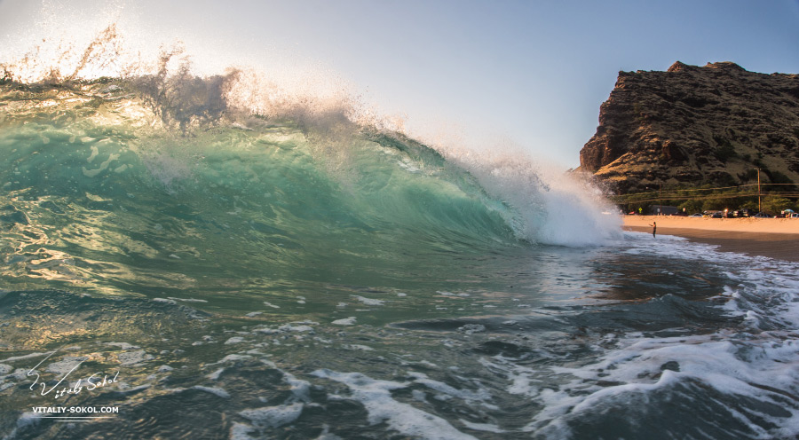 Hawaii, waves, ocean, shorebreak, surf