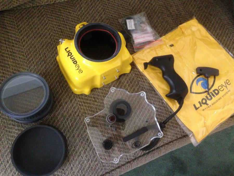 LiquidEye waterhousing gear unpacked