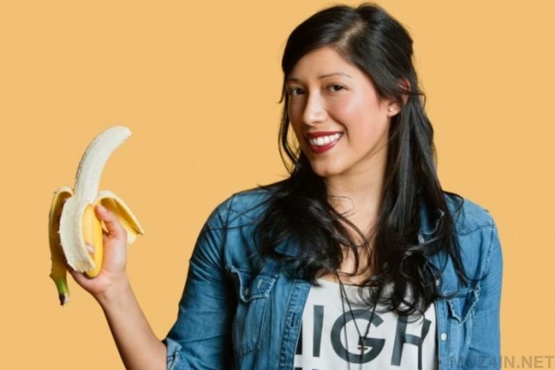 Эротическое поедание бананов