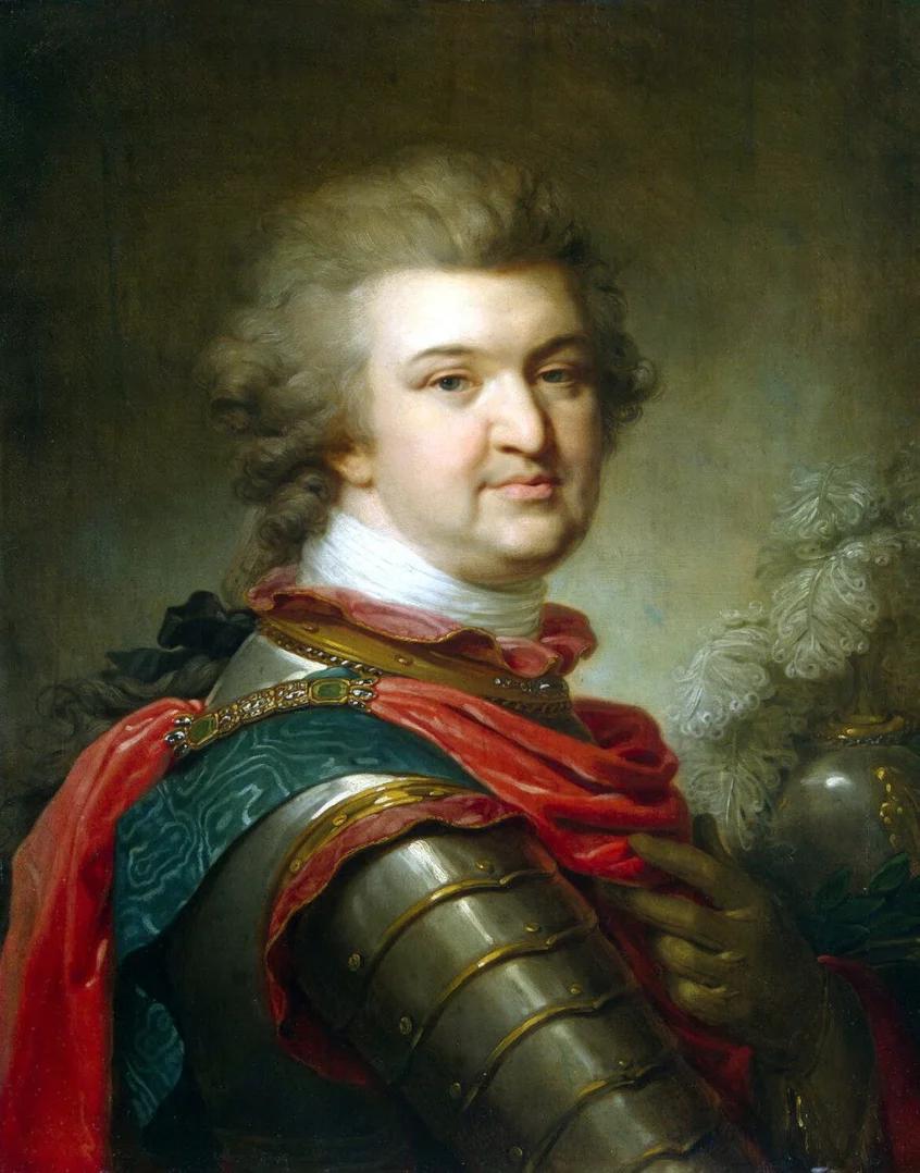 Григорий Потемкин. худ. Ж.Б. Лампи-старший. ок. 1790 г. Источник: WikiCommons