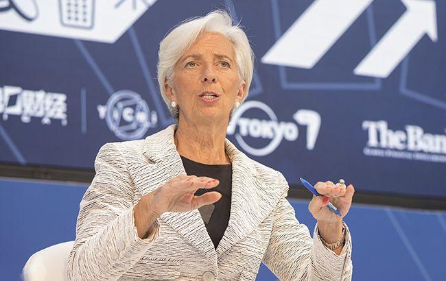 Фото: Кристин Лагард (imf.org)