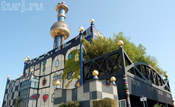 Австрия, Вена: Мусоросжигательный завод Шпиттелау, фото из сети.