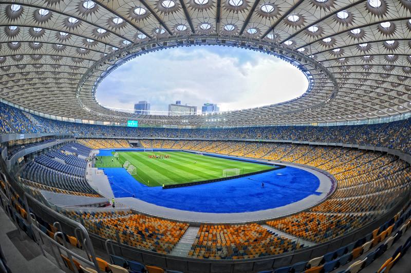 Стадион УЕФА 4-й категории. Построен1923 Реконструирован 2011 Архитектор Михаил Гречина (от 2011) , архитектурное бюро GMP von Gerkan, Marg und Partner.