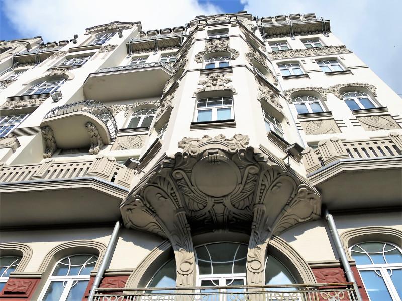 Доходный дом Родзянко на Ярославовом Валу. Модерн.