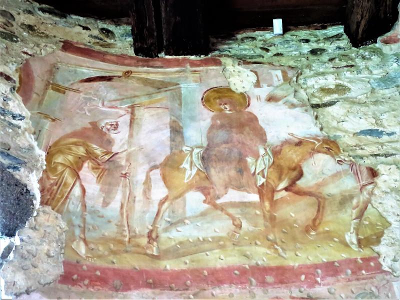 Кастельсеприо возле Варезе. Chiesa Santa Maria Foris Portas. фрески 6-10 век