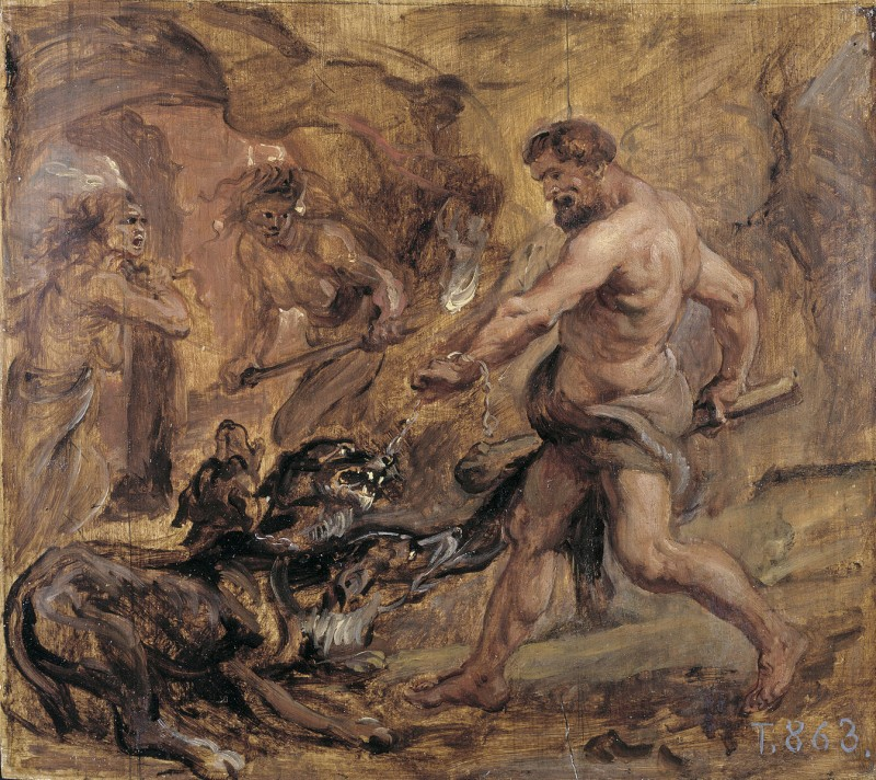 «Геркулес и Цербер», П. Рубенс, 1636. Прадо, Мадрид