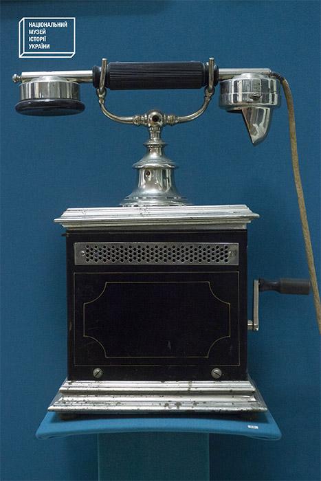 Идукторний телефон Ö10. Австрия, 1910-1918 гг.