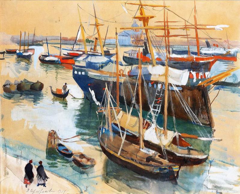 Бретань. В гавани.