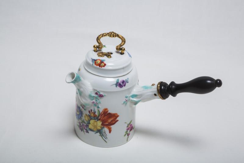 Шоколадник 1774–1814 гг. Мейсен Германия, фарфор, роспись