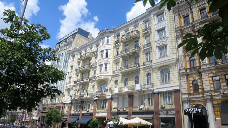 Киевские балконы. Богдана Хмельницкого 32