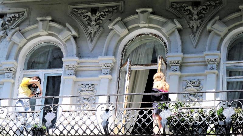 Киевские балконы. Липинского 4