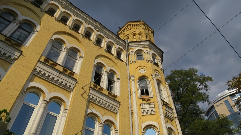 Лето в городе. Архитектура и сидр на улице Коцюбинского. 22.08.2021