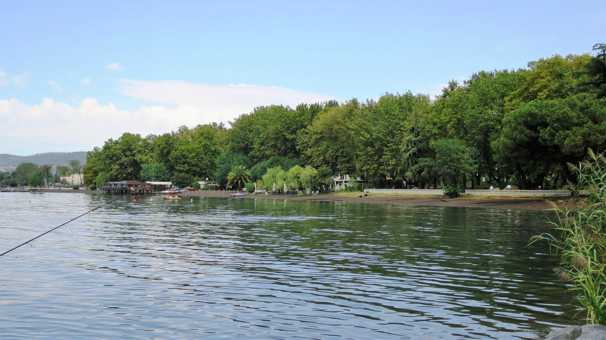 Свадебная фотосессия рица озеро
