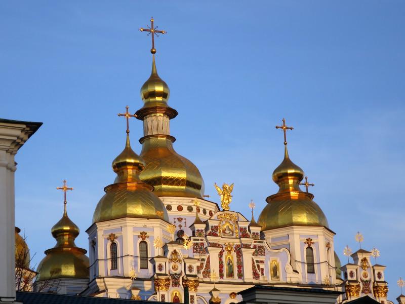 Михайловский Ззлатоверхий монастырь.