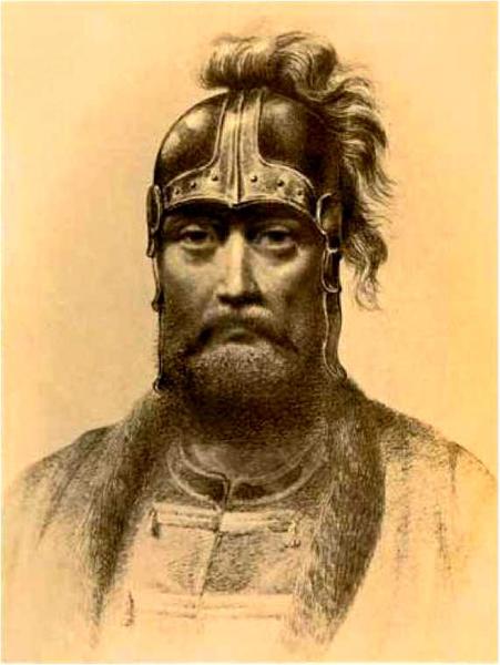 Святополк Изяславич. Неизвестный художник. Фото из Википедии.