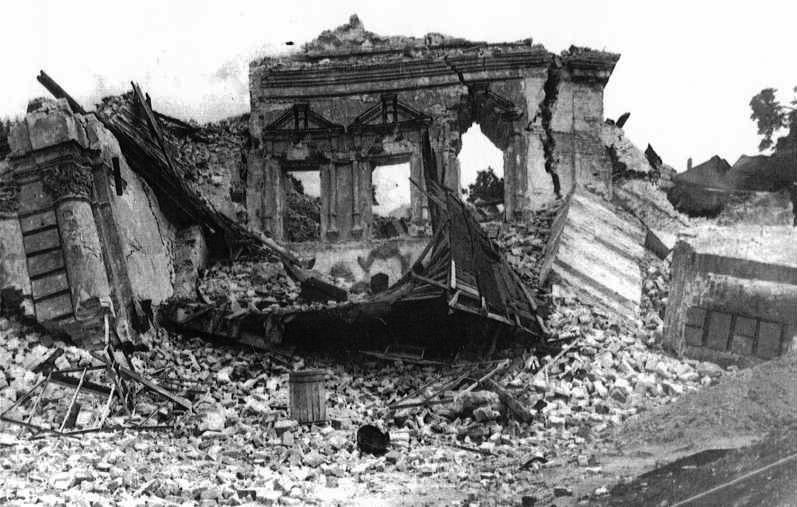 Руины Михайловского собора. Фото из Википедии.