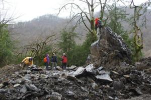 Взорванные скалы