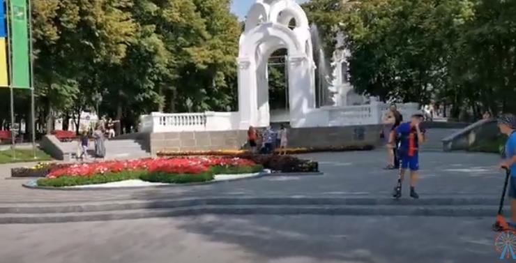 О Харькове. ПАРК ШЕВЧЕНКО реально УДИВИЛ