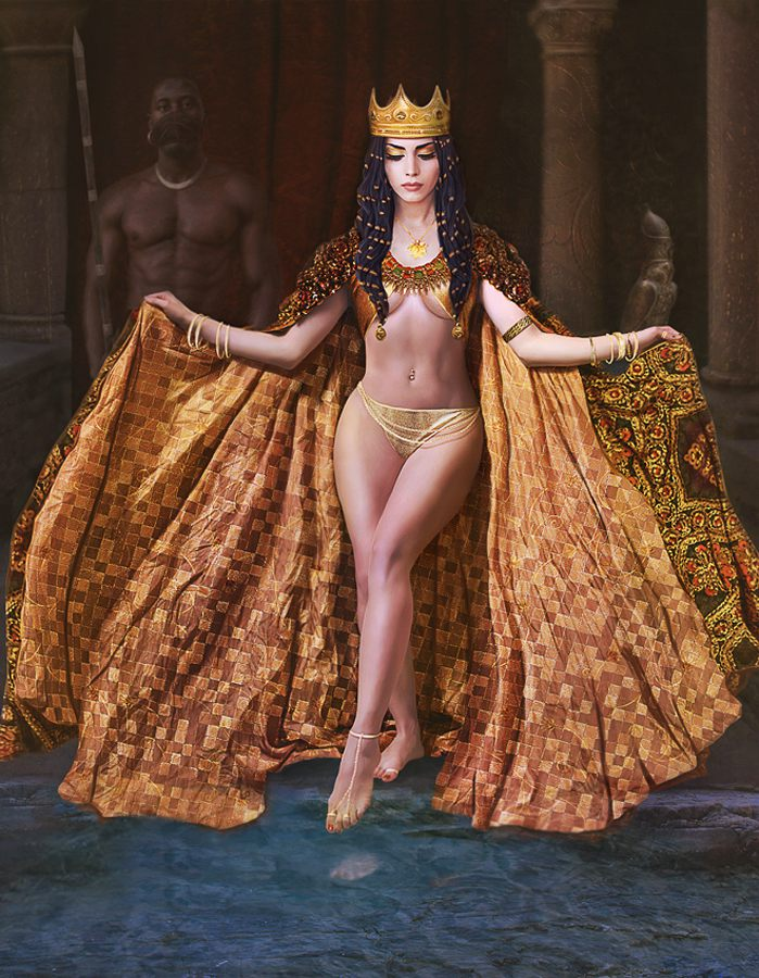 Обнаженная Царица