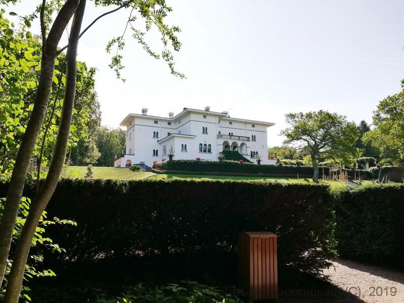 Замок Соллиденс - резиденция королевской семьи Швеции, остров Эланд. Фото 2019
