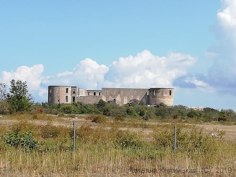 Замок Brokslolm на острове Эланд, Швеция. Фото 2019