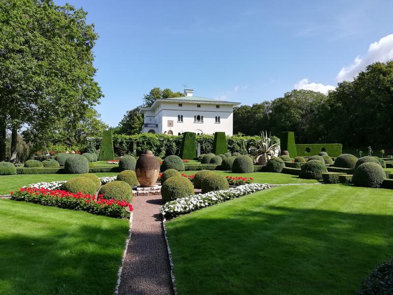 Sollidens slot - летняя королевская резиденция короля Швеции. Остров Эланд. Фото 2019