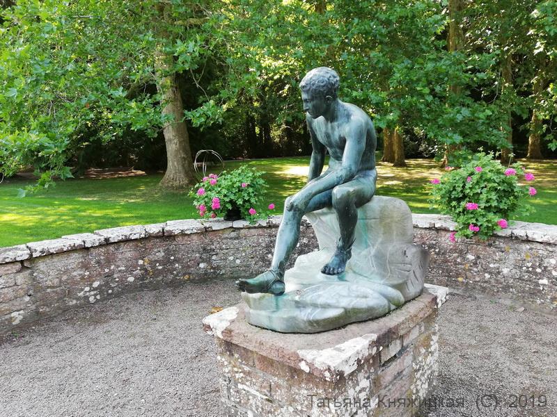 """Olle Baertling. Скульпура """"XRAI"""". 1972. В парке Соллиденс, остров Эланд, Швеция. Фото 2019"""