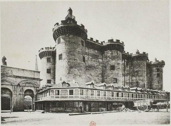Реконструкция Бастилии в 1889 году