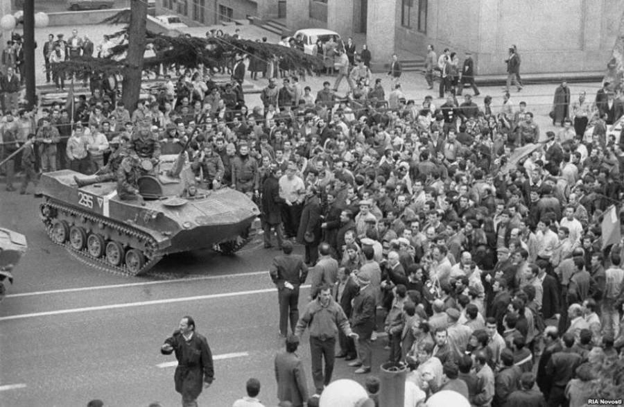 Грузия вспоминает 9 апреля 1989 года